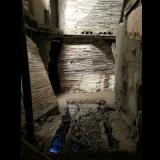 verwoest huis op noord